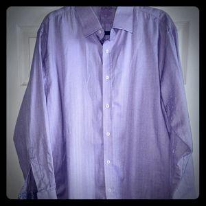 English Laundry reversible cuff shirt